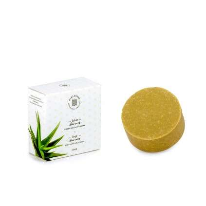 Aloe vera soap, mixed/oily skin. 100 Gr.